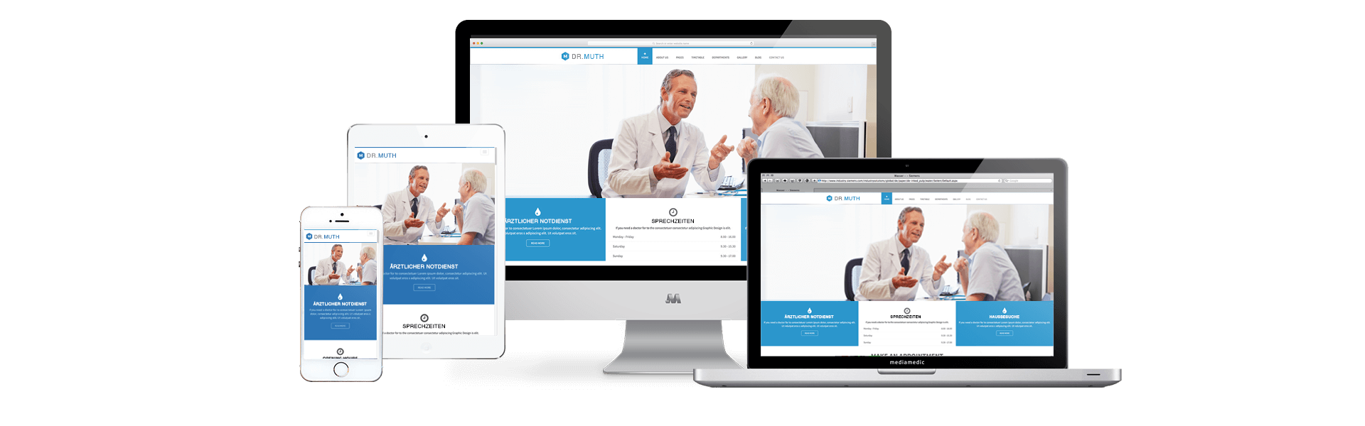 Websites – der wichtigste Bestandteil eines erfolgreichen Praxismarketing